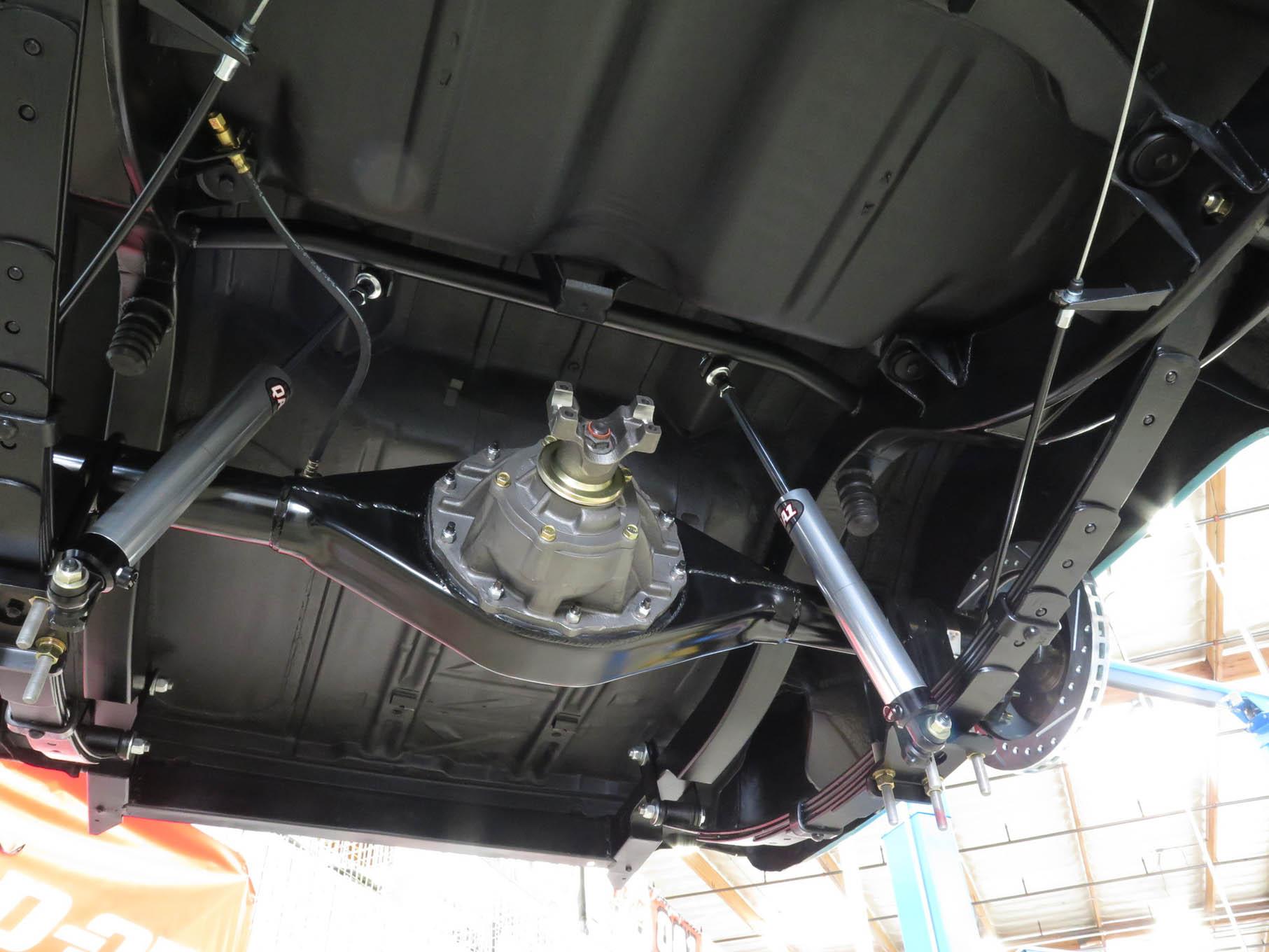 Rv Suspension Rear Installed