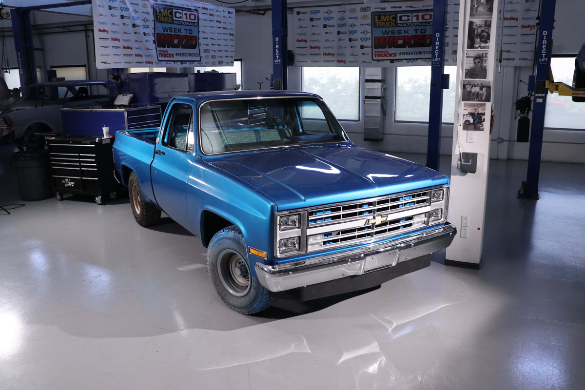 Classic Trucks Week to Wicked: 1985 Chevy C10 Square-Body!
